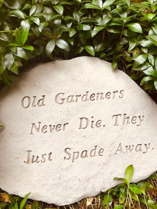Old Gardener Decorative Stone
